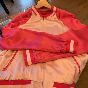 Satin Juicy Couture vintage bomber jacket